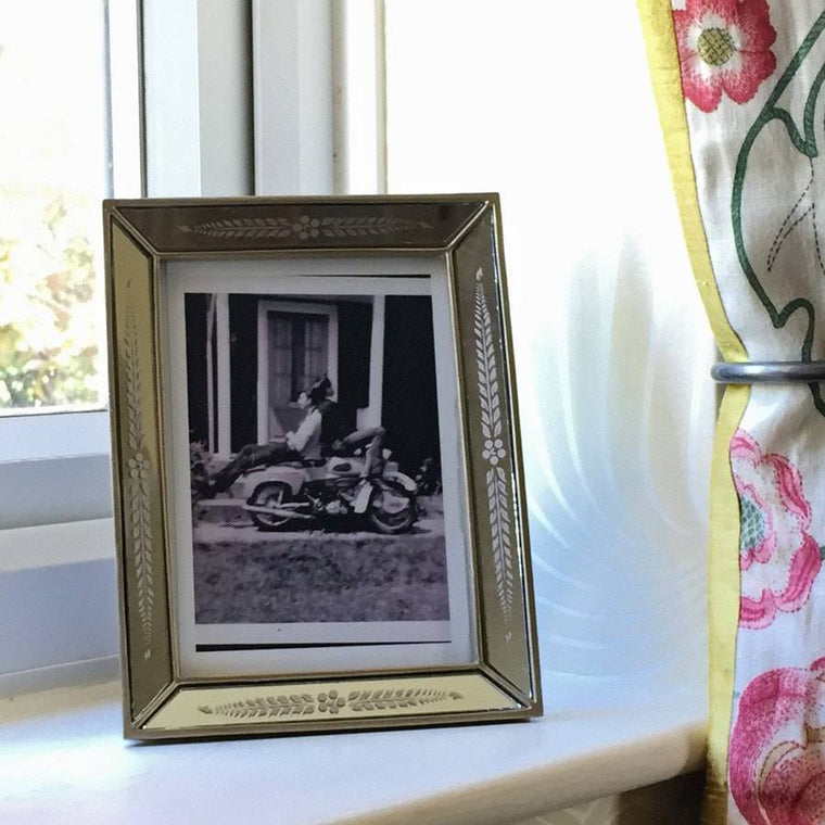 827c263d4b1 Triumph Silver Accent Artisan Picture Frame - The Farthing - 1