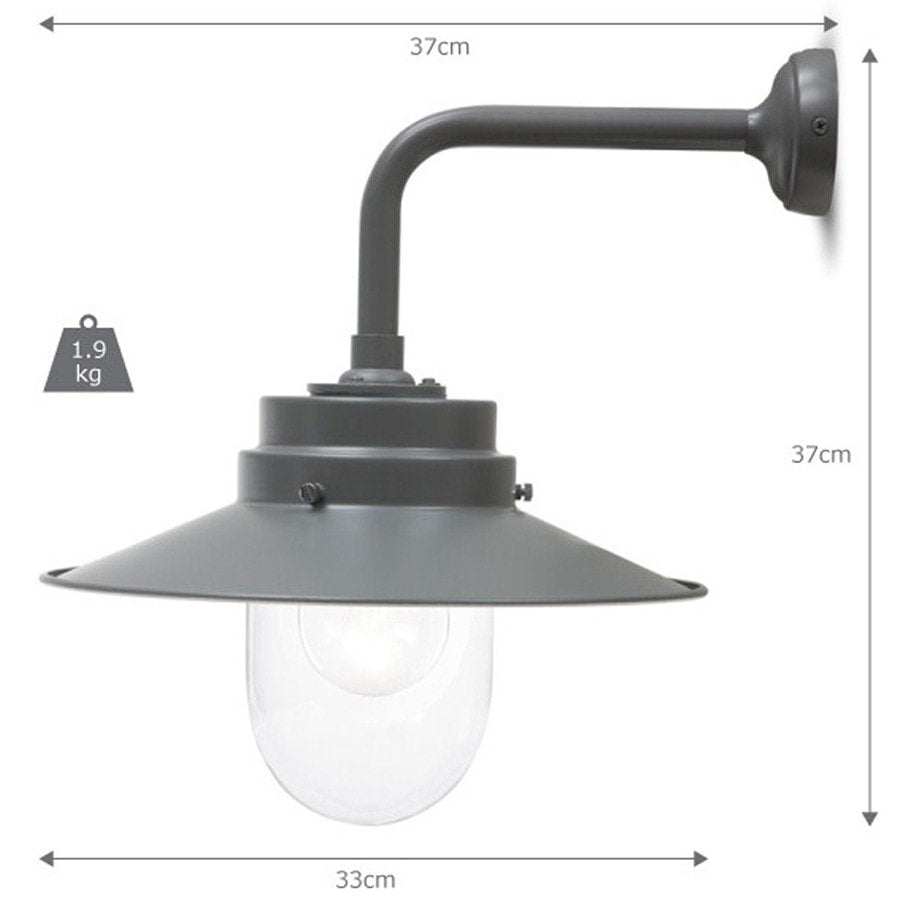 Ceiling lights in belfast : Belfast wall light charcoal vintage outdoor lighting