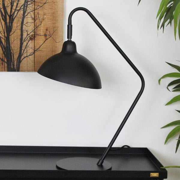 Black Lewis Adjustable Desk Lamp | The Farthing 5