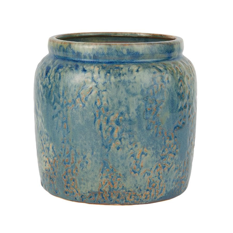 Blue Bay Ceramic Plant Pot at the Farthing