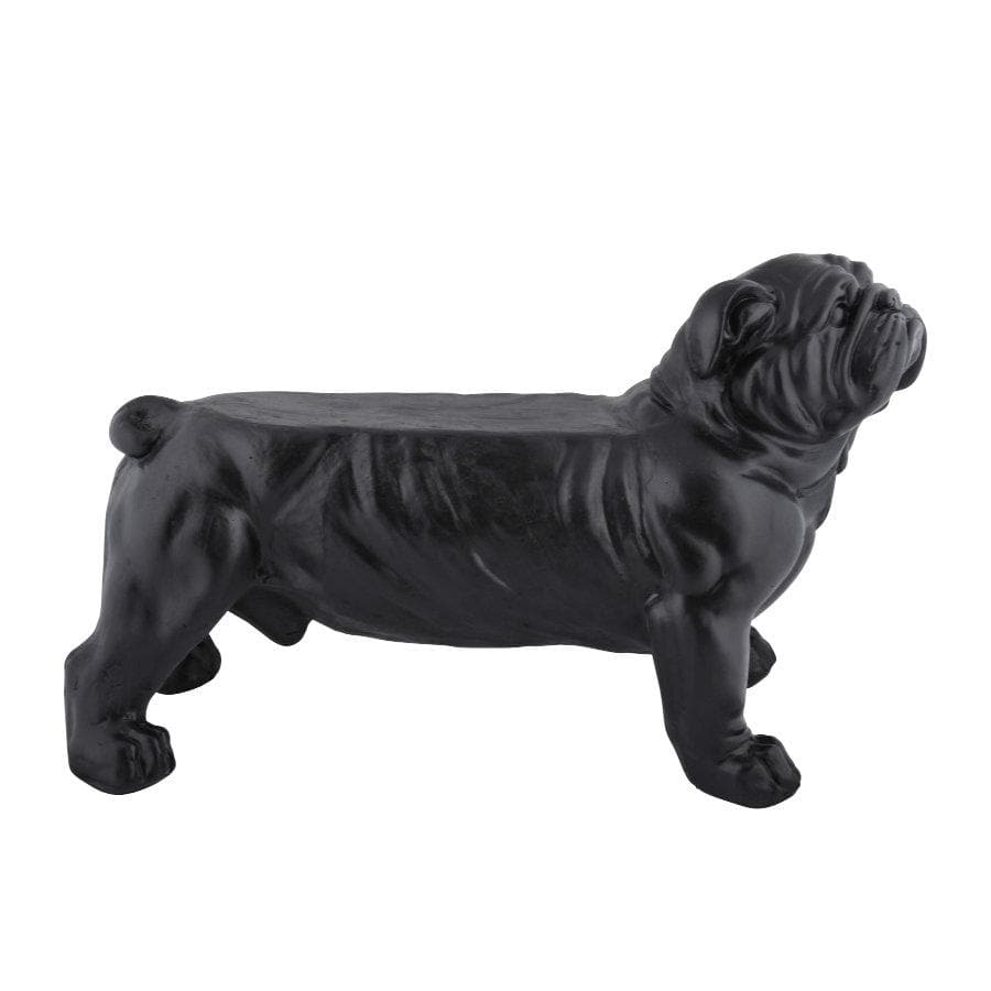 Distressed Bull Dog Bench at the Farthing