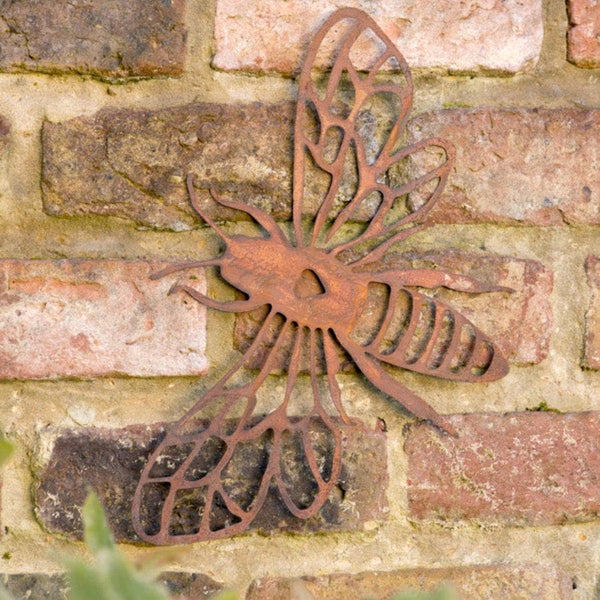 Rustic Metal Bee Wall Art at the Farthing