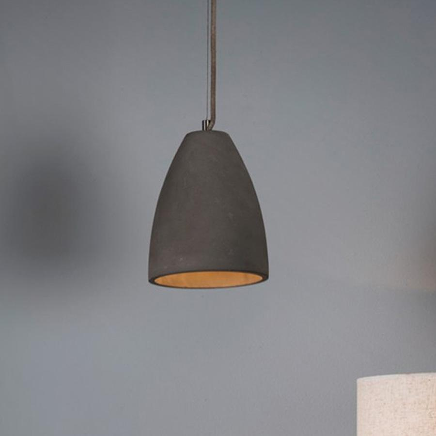 Dorset Cement Pendant Light - The Farthing