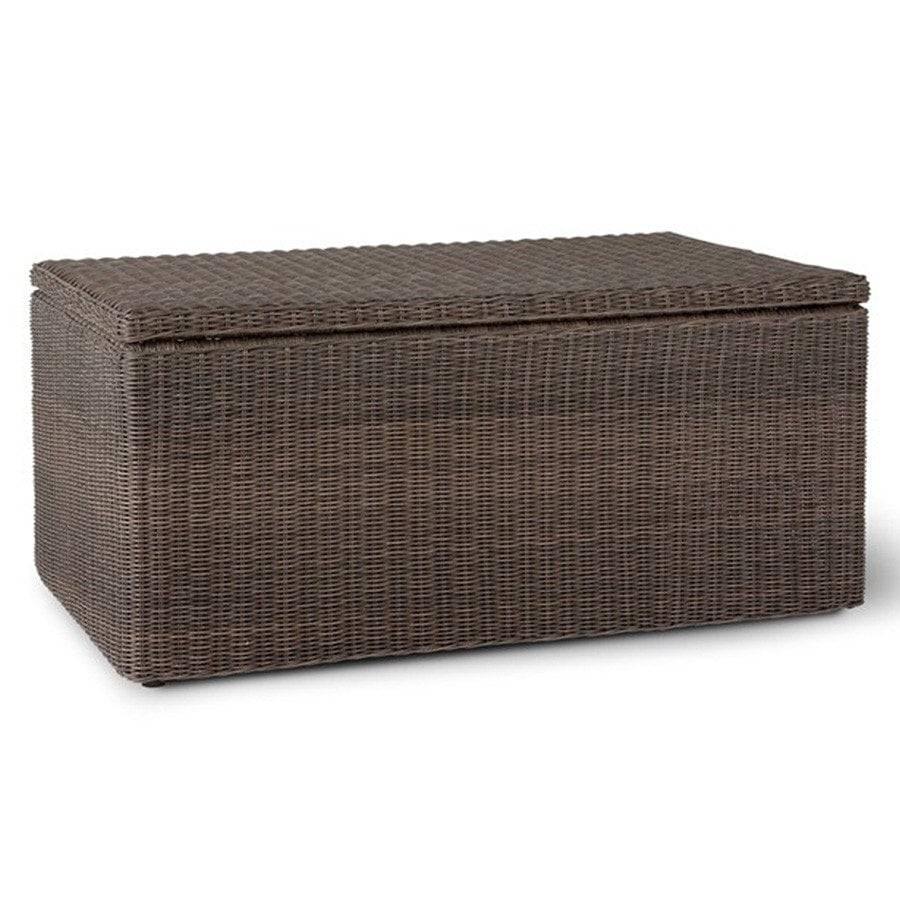 Chilgrove Storage Box/Coffee Table - PE Rattan - The Farthing