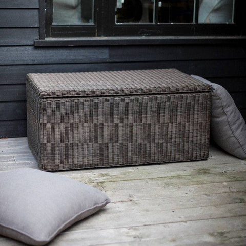 Chilgrove Storage Box Coffee Table Pe Rattan The Farthing