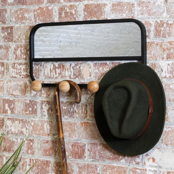 Coat Hanger Mirror