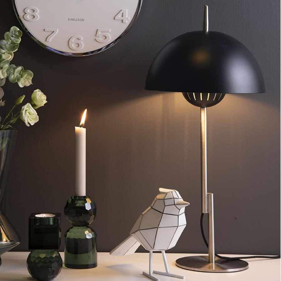 Rounded Black Desk Lamp | Farthing