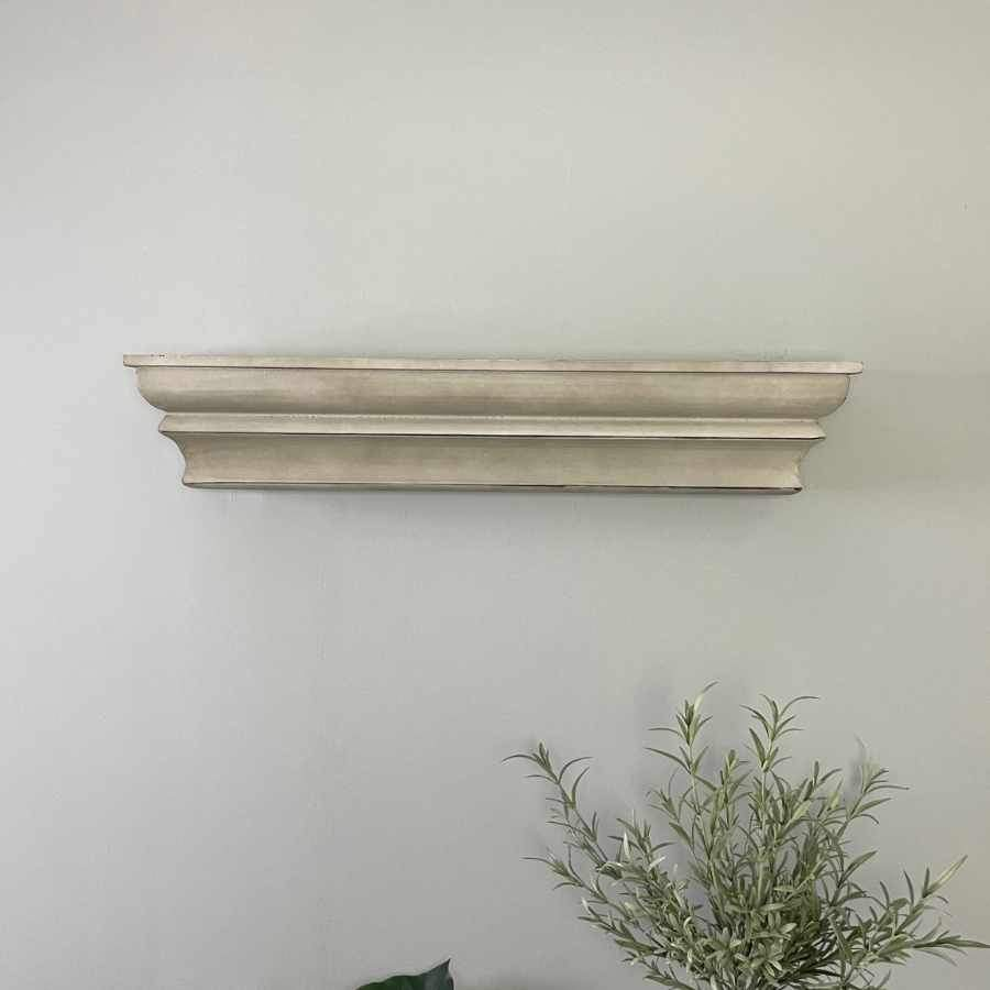 Distressed Painted Shelf | Farthing