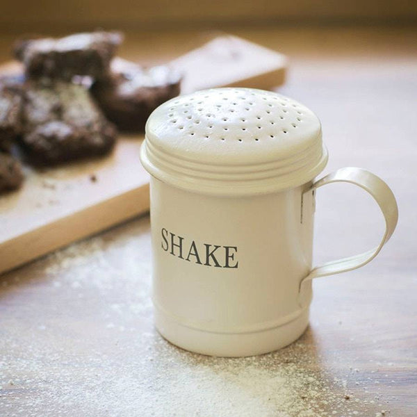 Farmhouse Vintage Style Flour Shaker - The Farthing