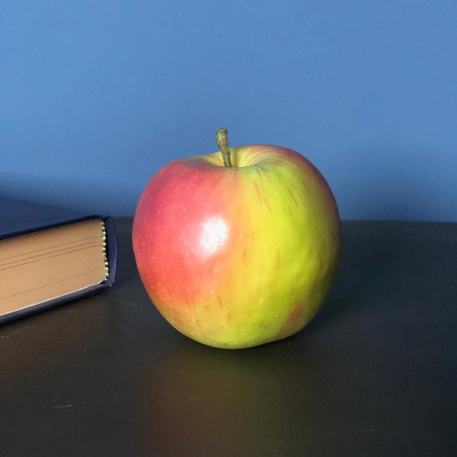 Decorative Faux Apple at the Farthing