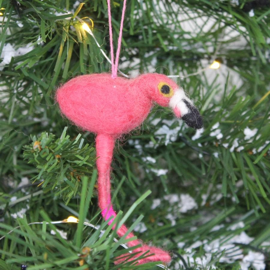 Felt Christmas Flo Flamingo 4