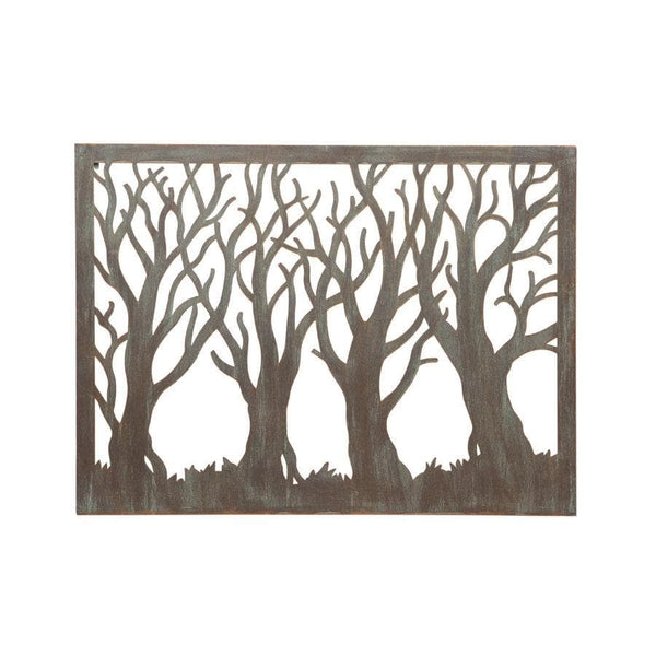 Rustic Garden Metal Wall Art - Forest | The Farthing