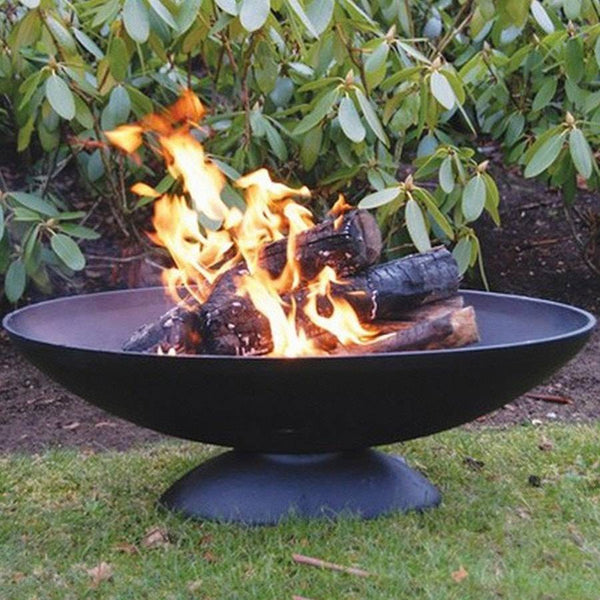 extra large cast iron wood fire pit the farthing. Black Bedroom Furniture Sets. Home Design Ideas