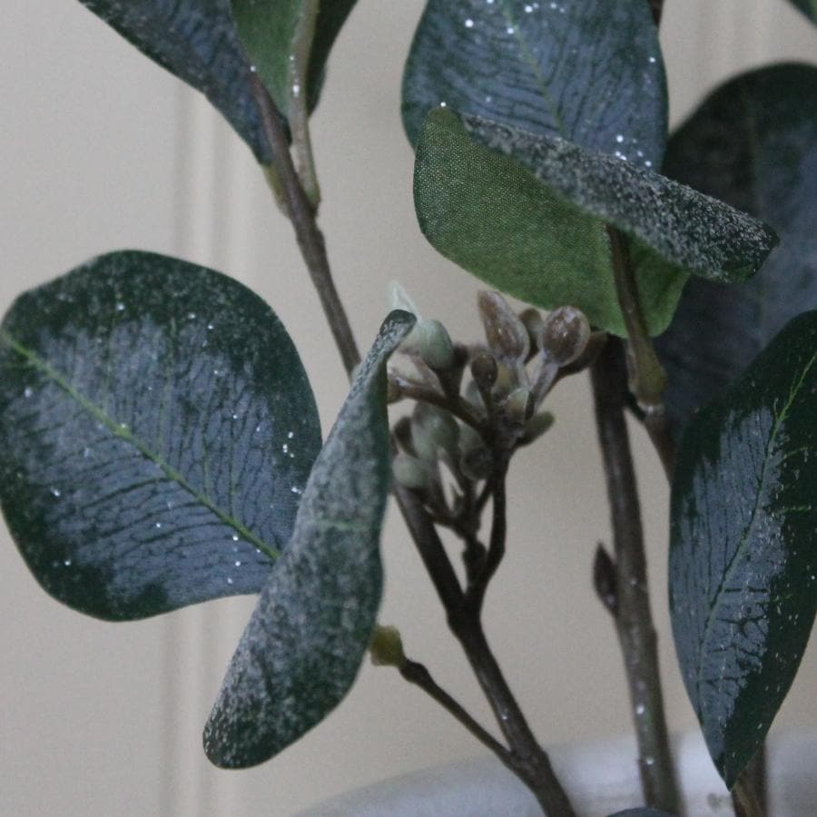 Faux Frosted Eucalyptus Spray
