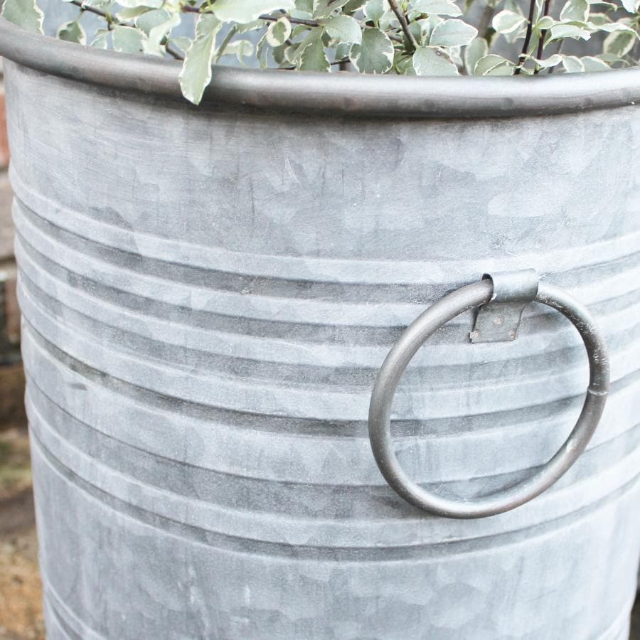 Tall Steel Bucket Planter Set - 3 | The Farthing