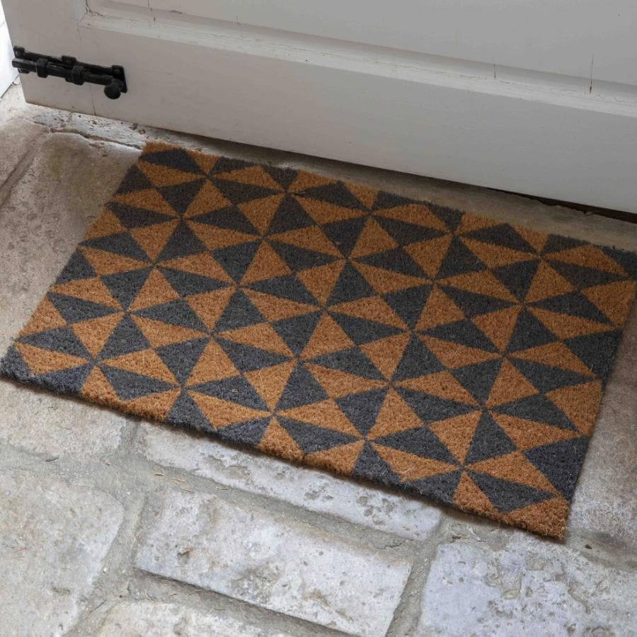 Geometric Pattern Doormat