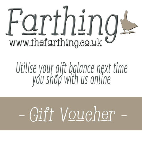 Gift Vouchers at the Farthing - The Farthing