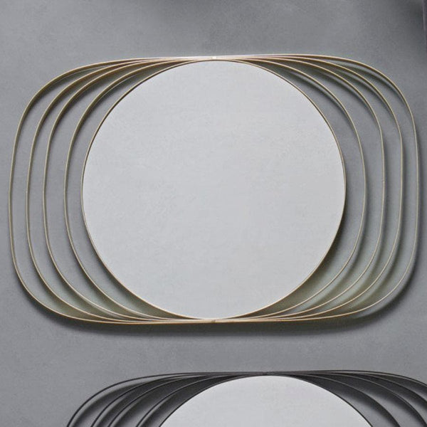 Gold Deco Wall Mirror at the Farthing