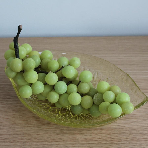 Bunch of Decorative Faux Green Grapes at the Farthing