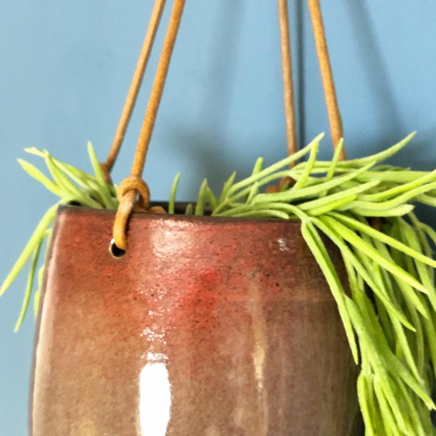 Hanging Ceramic Plant Pot at the Farthing