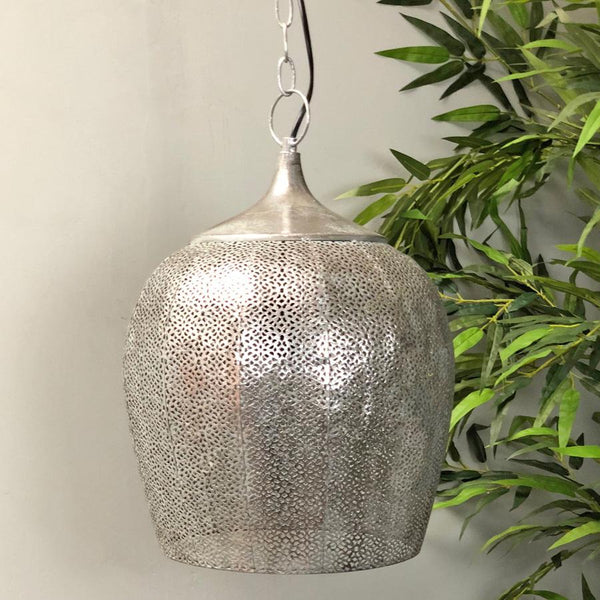 Vintage Dome Filigree Pendant Light at the Farthing 1