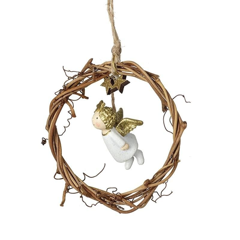 Hanging Angel Tree Decoration at the Farthing