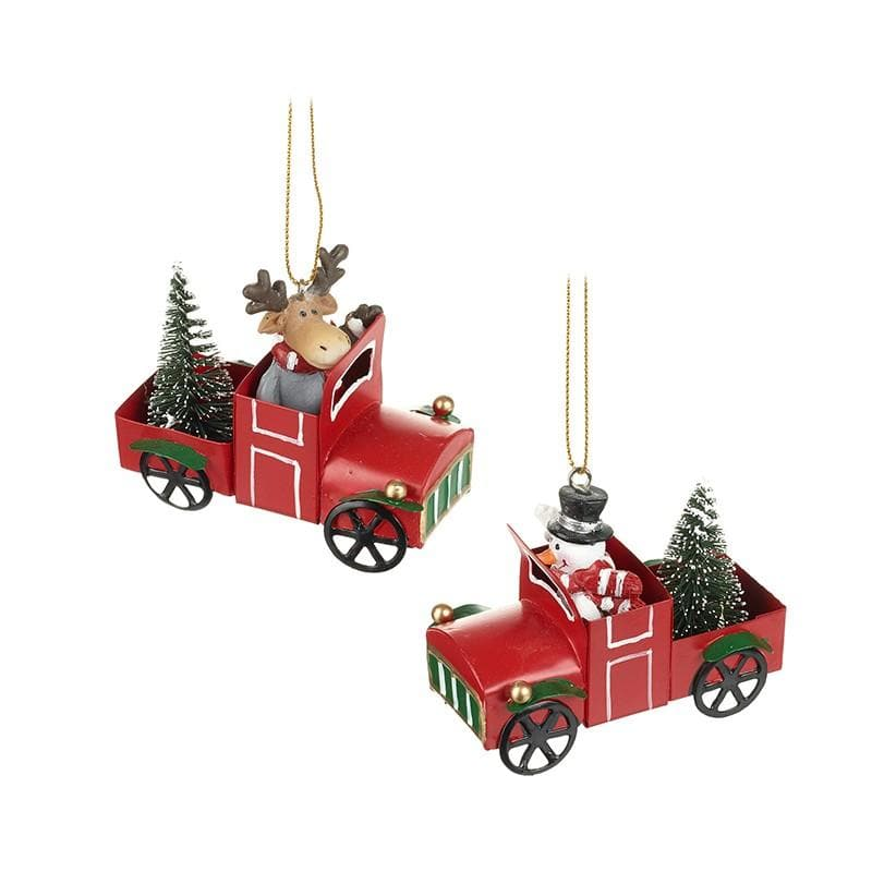 Christmas Delivery Moose & Snowman Set 11