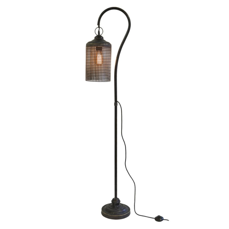 Industrial Hanging Floor Light at the Farthing