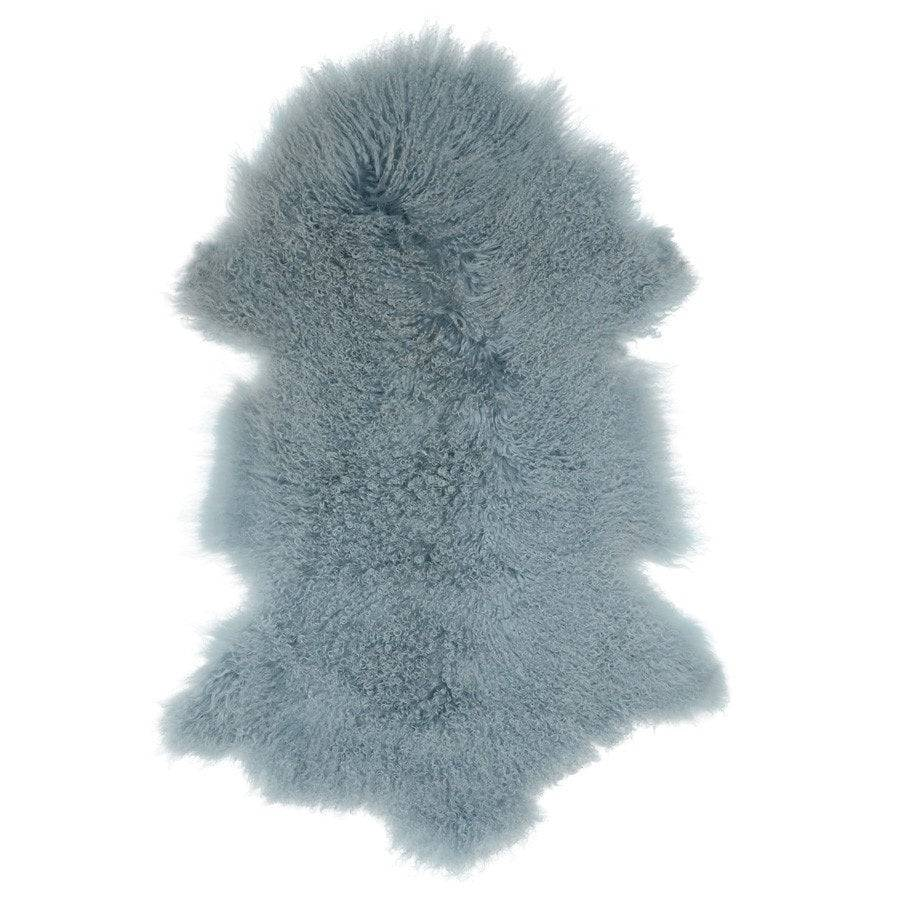 Light Blue Tibetan Lamb Fur - The Farthing