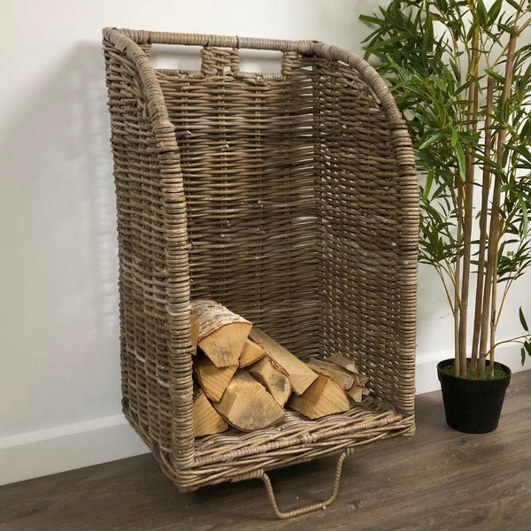 Rattan Log Trolley - The Farthing 11