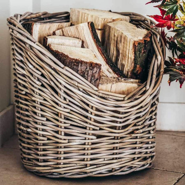 Natural Wicker Log Basket - 42cm 67