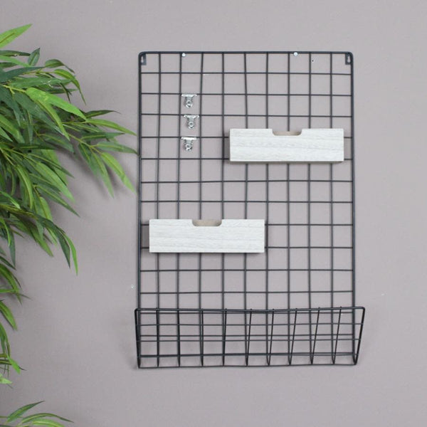 Black Grid Memo Rack at the Farthing 1