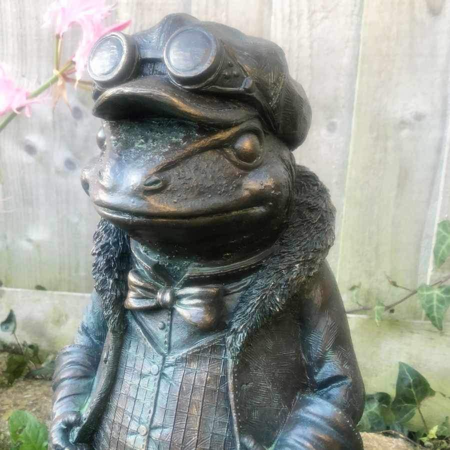 Alluring Mr Toad - Verdigris Finish