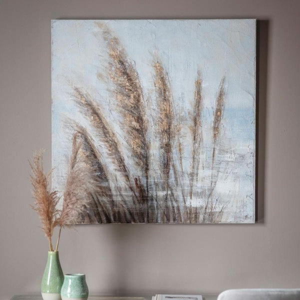Pampas Grass Wall Canvas