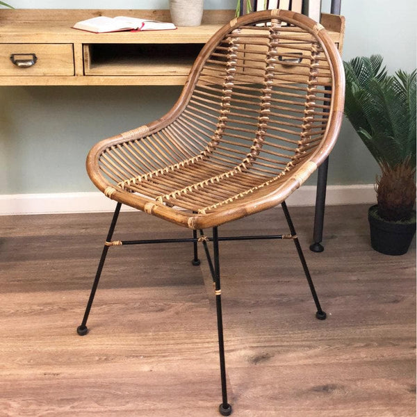 Rattan Tub Chair at the Farthing 1