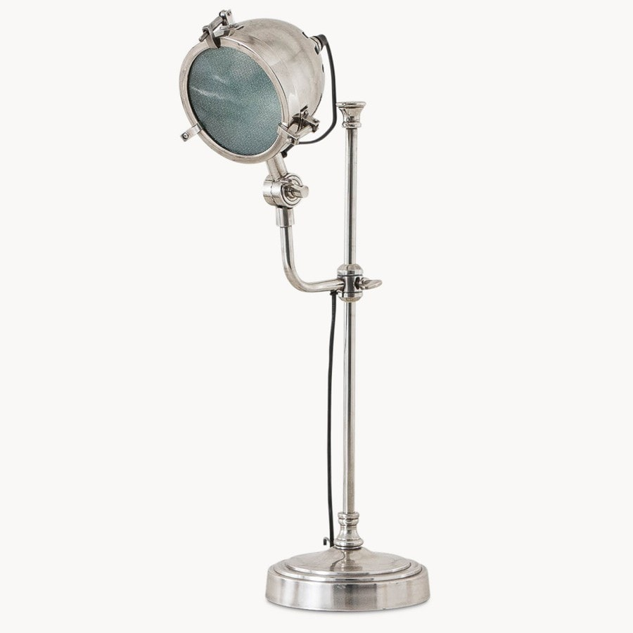 Table lamp vintage style -  Vintage Style Metal Table Lamp The Farthing 3