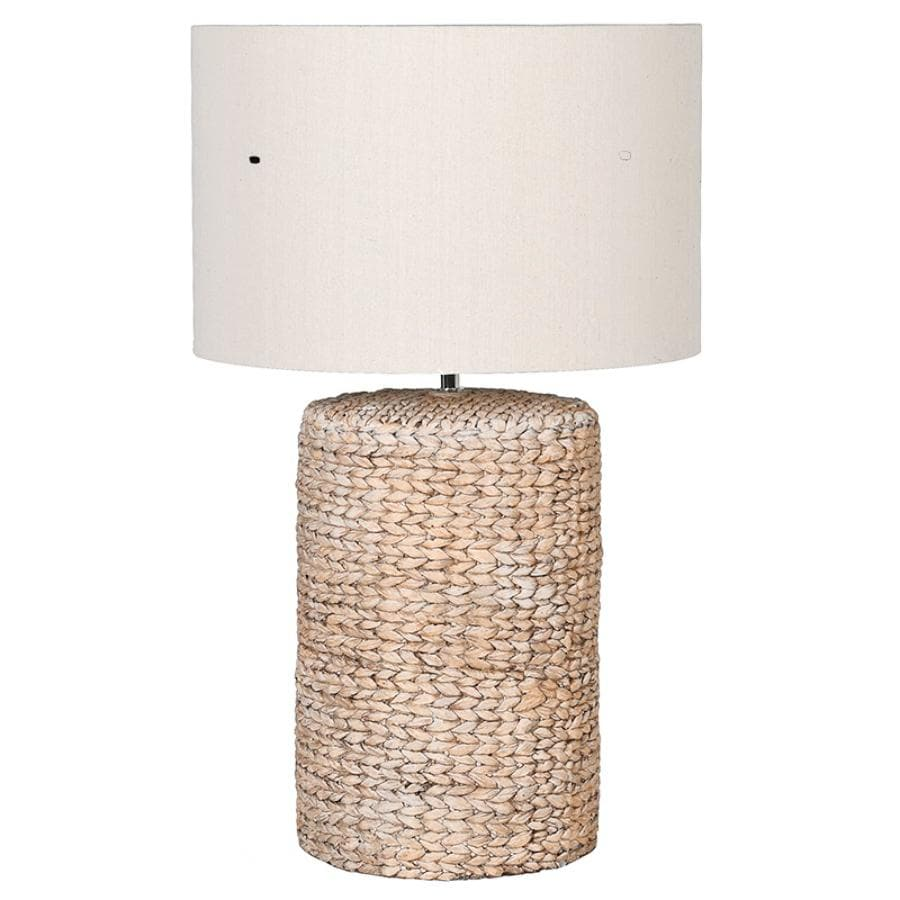 Rustic Rope Weymouth Table Lamp & Shade
