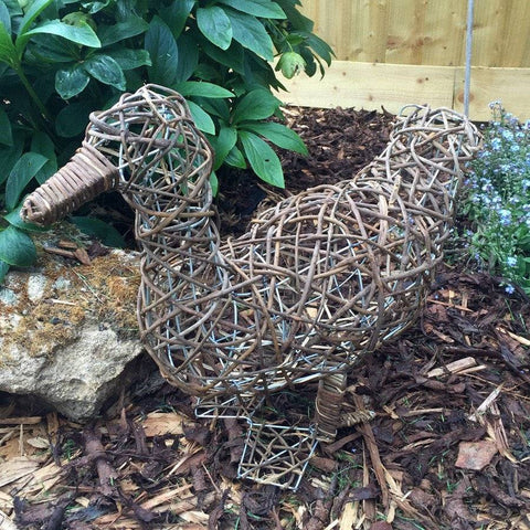 Delightful Rattan Duck - The Farthing