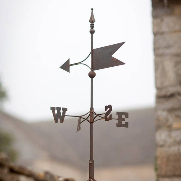 Rustic Aged Barrington Weather Vane - The Farthing