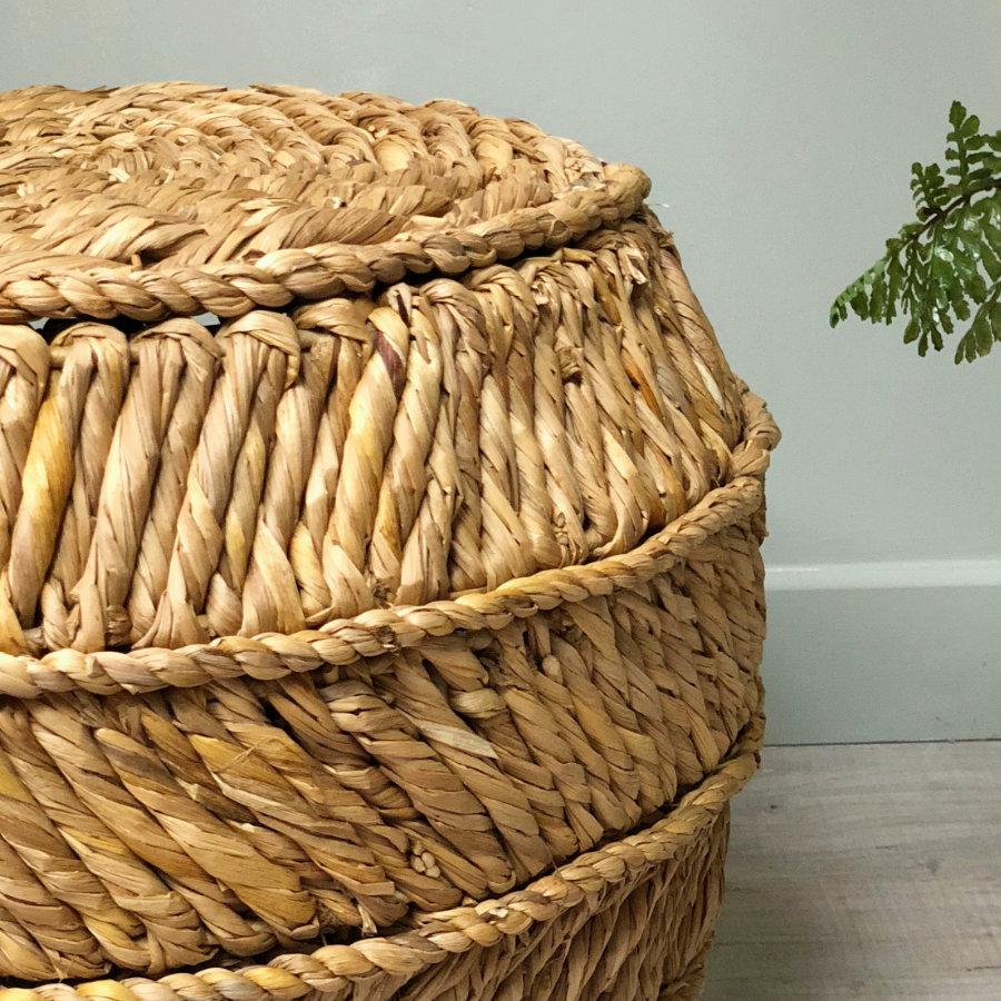 Rustic Bullgrass Side Table | Farthing 11