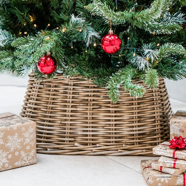 Christmas Tree Skirts & Base Rings at the Farthing - The ...