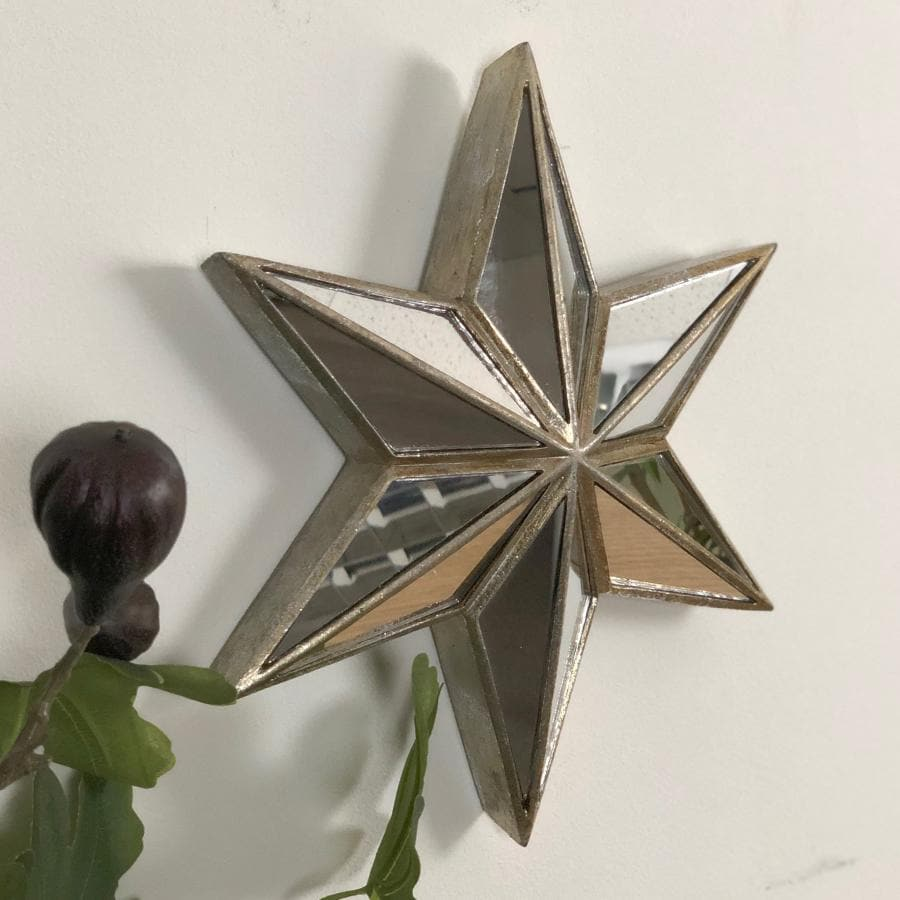 Vintage Mirrored Star Mirror at the Farthing 4