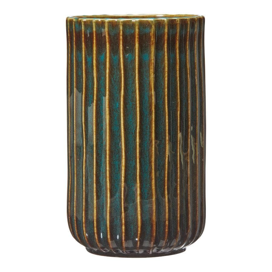 Ceramic Green Vera Vase at the Farthing