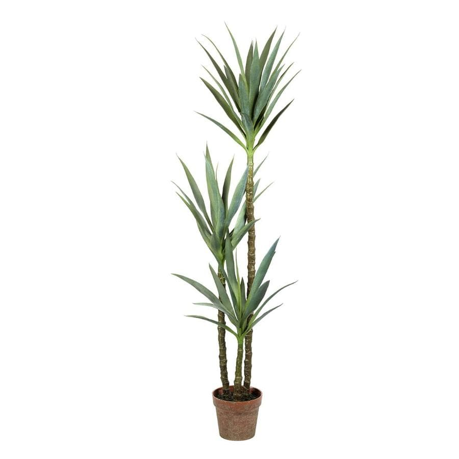 Tall Faux Green Yucca Plant at the Farthing