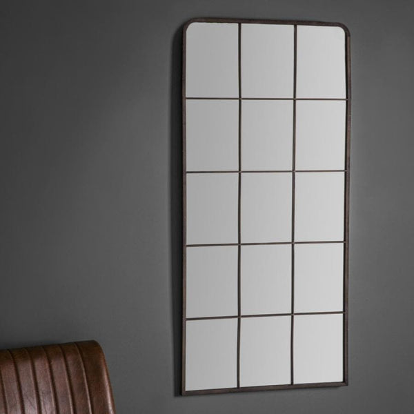 Tall Industrial Window Mirror | Farthing