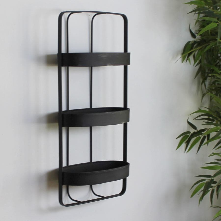 Torridge Triple Metal Wall Shelf at the Farthing  4