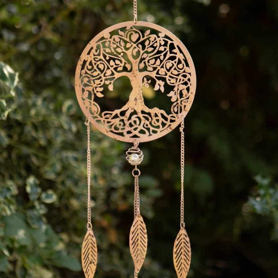 Decorative Hanging Metal Tree Dream Catcher
