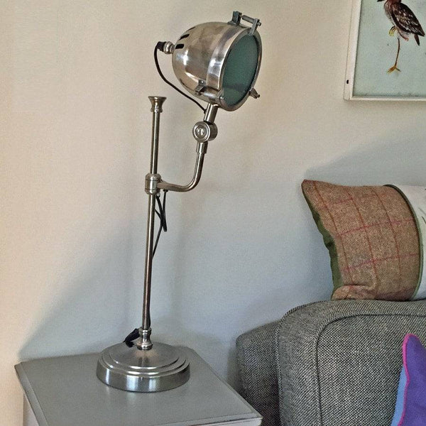 Vintage Style Metal Table Lamp - The Farthing  - 1