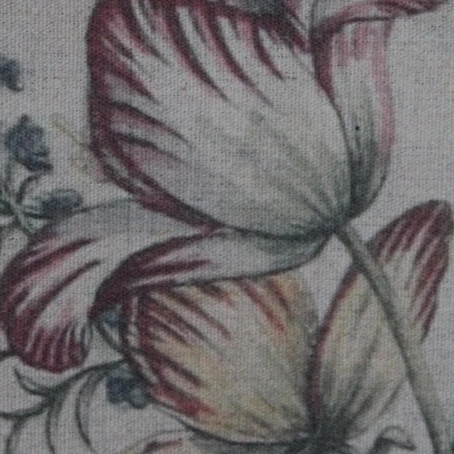 Vintage Floral Fabric Wall Hanging 12