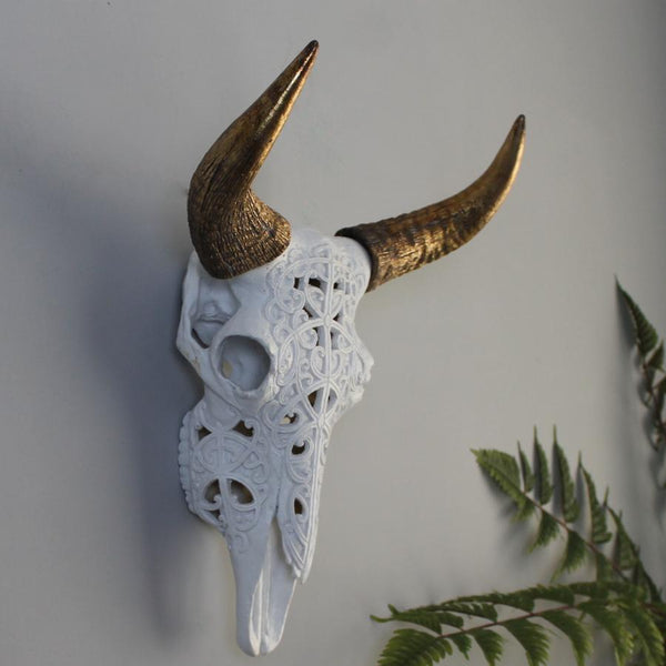 Decorative Faux Skull at the Farthing